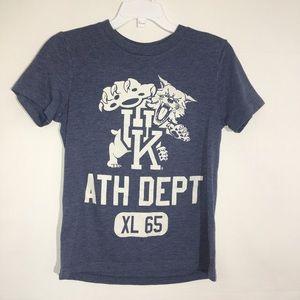 Boys short sleeve Kentucky Wildcats shirt